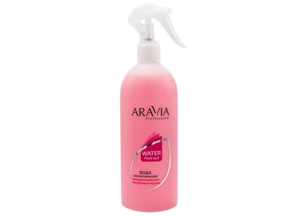 ARAVIA Professional. Вода косметическая минерализованная с Биофлавоноидами 500мл